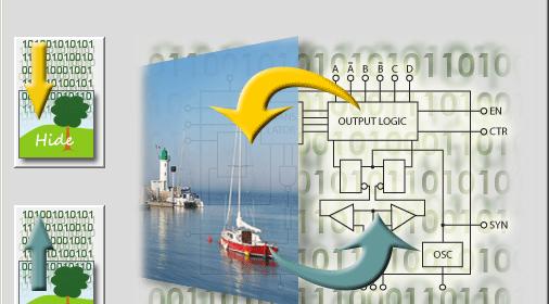 Esconde Data (Tus Passwords) dentro de una Imagen .Bmp, .Png ó .Tiff